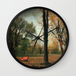 Fall's Crescendo Wall Clock