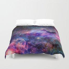 Galaxy Universe Stars Duvet Cover