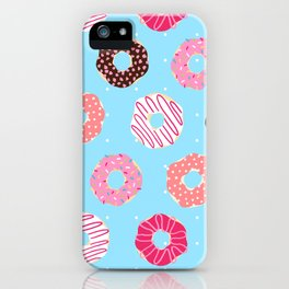 Sequence 49 - Donuts iPhone Case