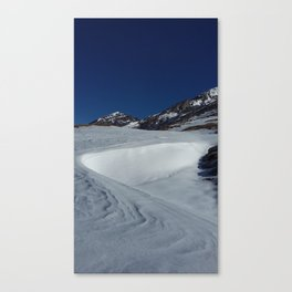 Gemmipass above Leukerbad, Valais, Swiss Alps II Canvas Print