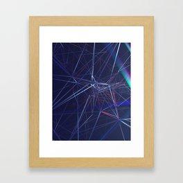Plexus Framed Art Print