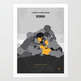 No1035 My Roma minimal movie poster Art Print
