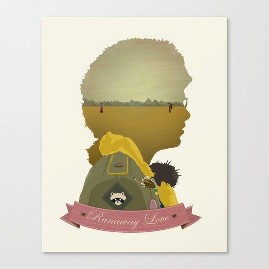 Runaway Love Canvas Print