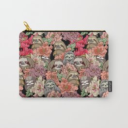 Because Sloths Carry-All Pouch