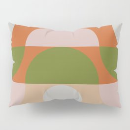 Geometric Shapes #fallwinter #colortrend #decor Pillow Sham