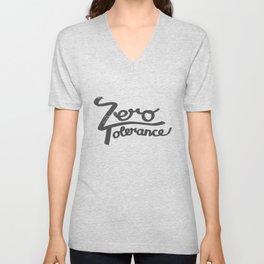 Zero Tolerance Unisex V-Neck