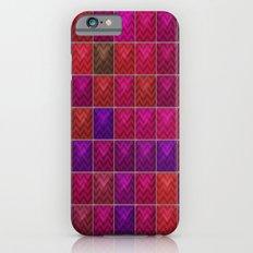 Chevron tiles Slim Case iPhone 6s