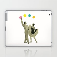Throwing Shapes on the Dance Floor Laptop & iPad Skin