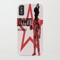 soviet iPhone & iPod Cases featuring Soviet experiments by Slug Draws