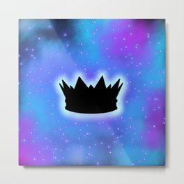 King of the galaxy Metal Print