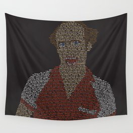 Trale Lewous Tribute Poster Wall Tapestry