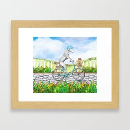 WEIM ON WHEELS Framed Art Print