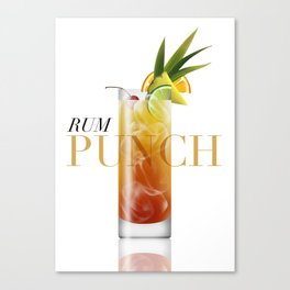 Rum Punch Canvas Print