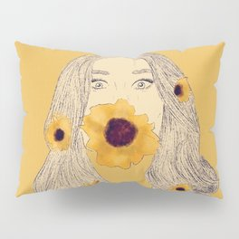 Sunflower Babe Pillow Sham