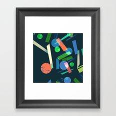 Geometry 3 Framed Art Print
