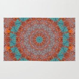 Hen Feathers 1 Rug