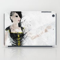 angel iPad Cases featuring Angel by Melissa Smith