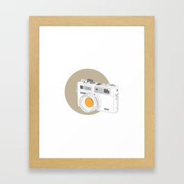 Yashica Electro 35 GSN Camera Framed Art Print