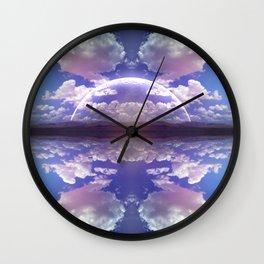 Nefelibata Wall Clock
