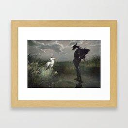 do babby come? Framed Art Print