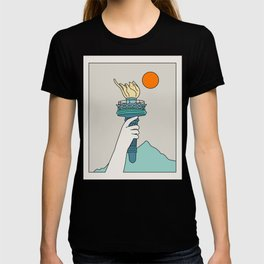 Cat Landscape 22 T-shirt