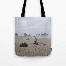 Bandon Beach Bird Tote Bag
