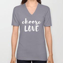 Choose Love Unisex V-Neck