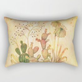 For the Love of Cactus Rectangular Pillow