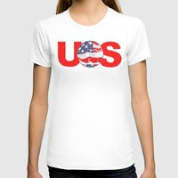 soccer T-shirts featuring USA Soccer by Bunhugger Design