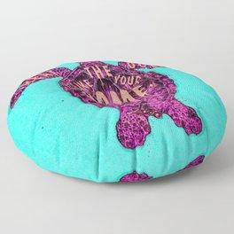 ocean omega (variant) Floor Pillow