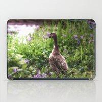 duck iPad Cases featuring Duck by Terri Ellis