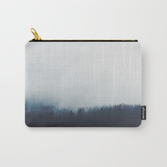 Dreary Landscape forest Carry-All Pouch