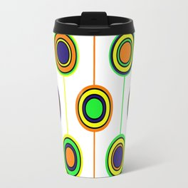 Circles of color Travel Mug