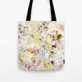 Mosaic of Barcelona XI Tote Bag