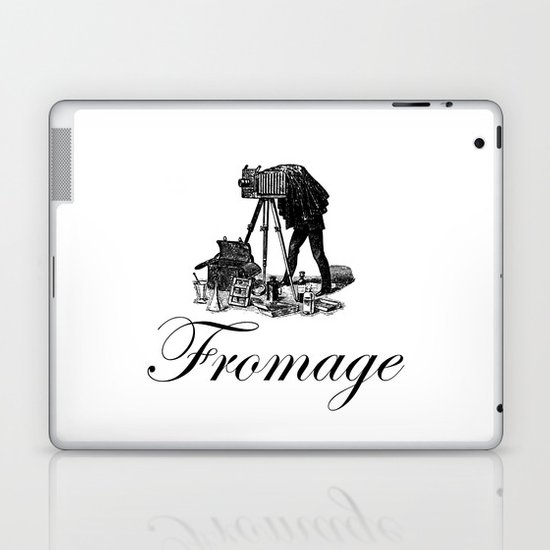 Say Fromage Laptop & iPad Skin