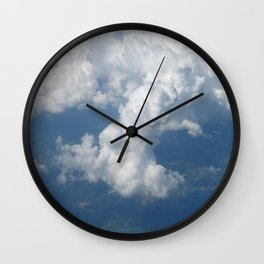 Above the clouds 04 Wall Clock
