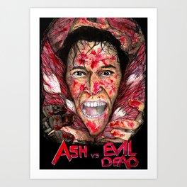 Ash vs Evil Dead Art Print