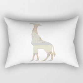 Pattern Giraffe  Rectangular Pillow