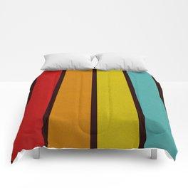Retro Lines Comforters