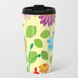 colorful meadow Travel Mug