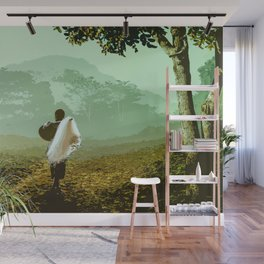 Can't Wait to Come Home Wall Mural