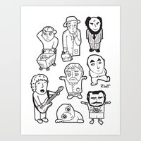 everyday heroes Art Print