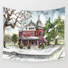 Snowfall Wall Tapestry
