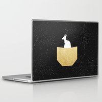 pocket Laptop & iPad Skins featuring ANIMAL POCKET by Marg