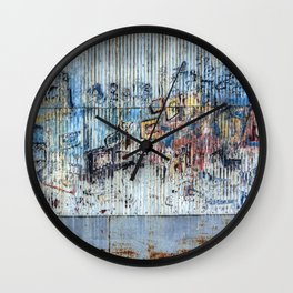 Graffiti Wall 2 Wall Clock