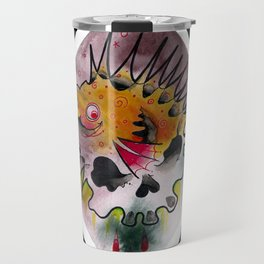 PuffrSkull Travel Mug