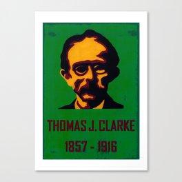T. J. Clarke   1857-1916 Canvas Print