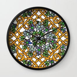 Louis Comfort Tiffany - Decorative stained glass 11. Wall Clock