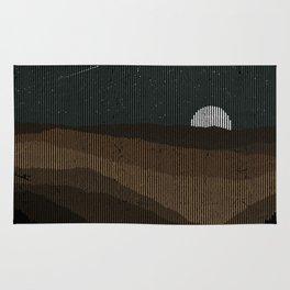 Moonrise (Sepia) Rug