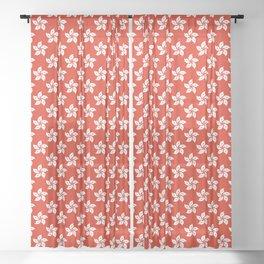 Hong Kong Flag I love HK Sheer Curtain